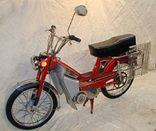 Oddjob Motors - moped mania